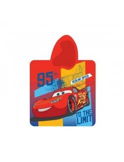 Prosop Poncho copii Disney Cars 60x120 cm
