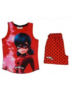 Set haine Miraculos Buburuza rosu, 3 - 8 ani