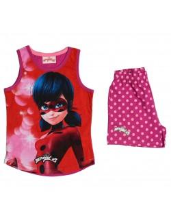 Set haine Miraculos Buburuza roz, 3 - 8 ani