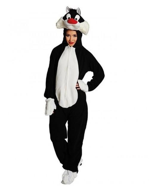 Costum mascotă adulți: Motanul Sylvester Deluxe