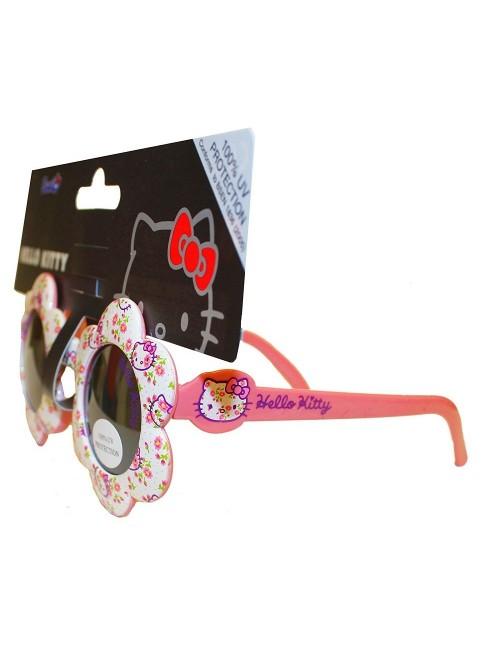Ochelari de soare floricele Hello Kitty