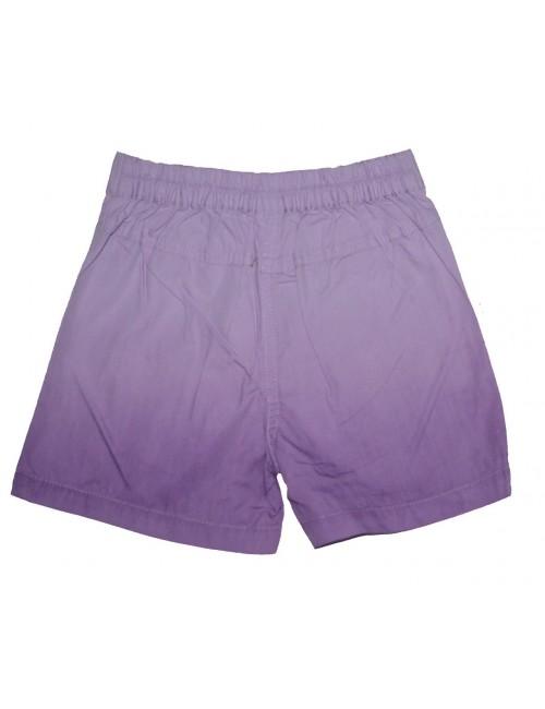 Pantaloni scurti fete 4 - 8 ani, mov-lila