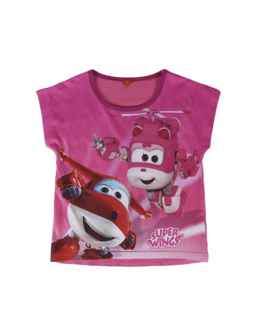 Tricou fete Super Wings (Super Aripi) 2 - 6 ani Cerda