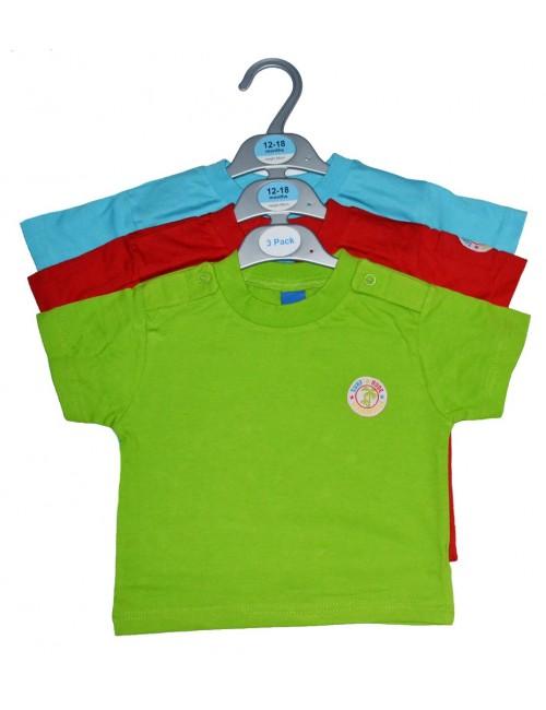 Set 3 tricouri bebelusi (3-18 luni)
