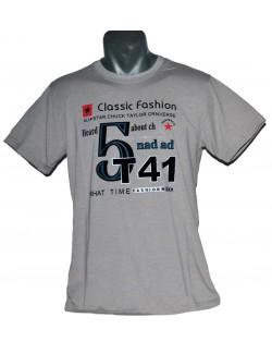 Tricou barbati Classic fashion, bej, L-XL