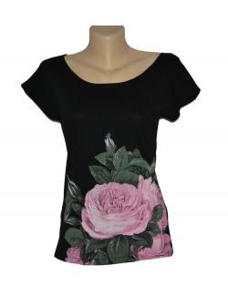 Tricou adolescente, ONLY, Trandafir roz, S - M