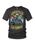 Tricou barbati Justice League S - XXL, gri
