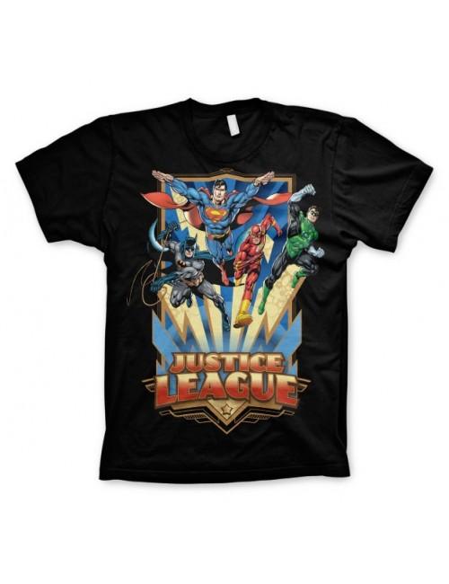 Tricou Justice League barbati, negru