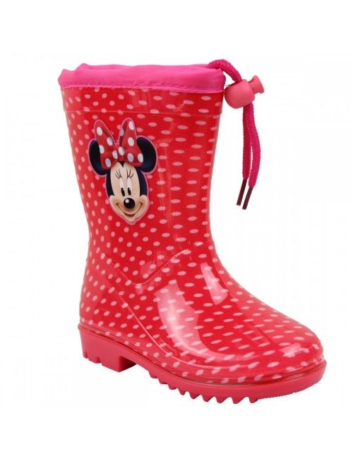 Cizme Minnie Mouse cu buline 22-33