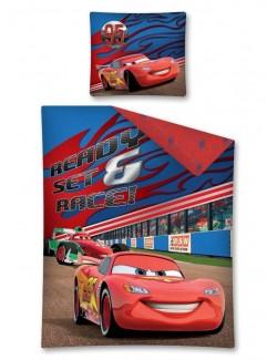 Lenjerie pat Disney Cars Fulger McQueen 140 x 200 cm