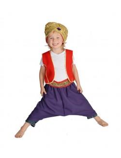 Costum Prinţ arab - Aladin - Sinbad - copii 5-9 ani