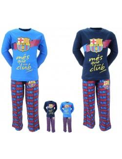 Pijama FC Barcelona copii 4 ani