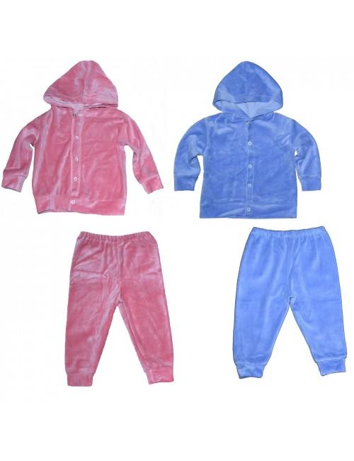 Set haine catifea/ trening bebelusi 12-24 luni