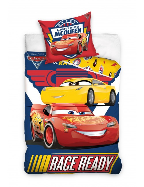 Lenjerie pat Disney Cars Race Ready 160 x 200 cm