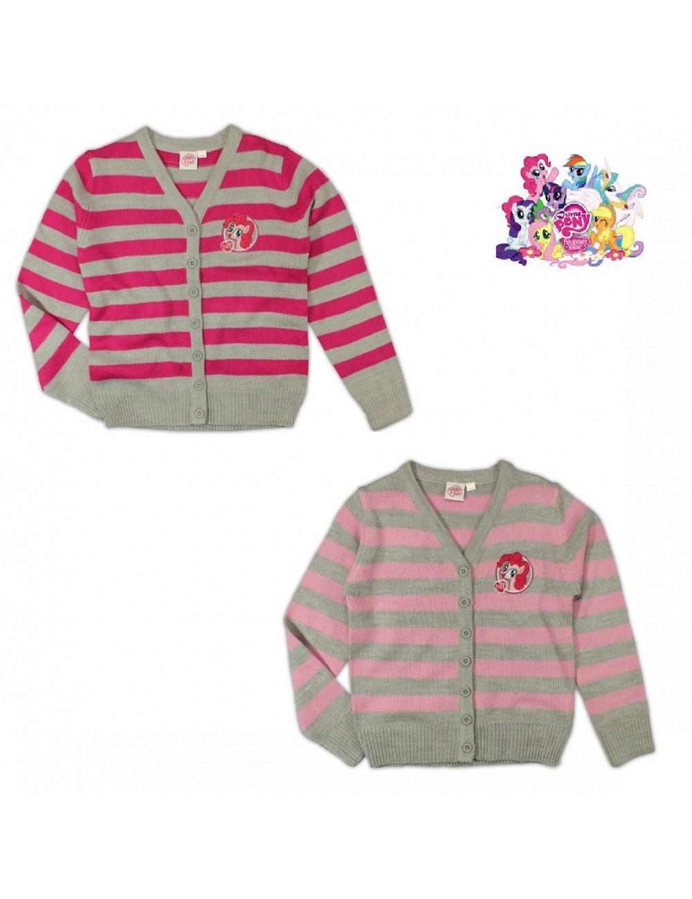 Pulover tricotat cu nasturi My Little Pony 98-128