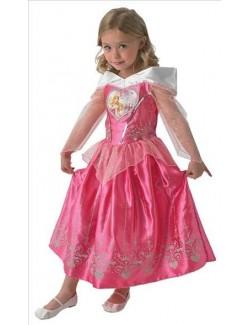 Costum Aurora Frumoasa Adormita Love Heart 3-6 ani