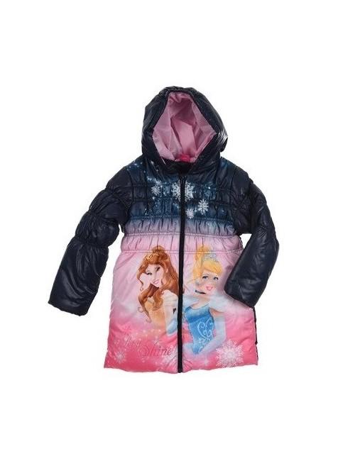 Jacheta iarna Printese Disney: Belle si Cenusareasa 3-6 ani