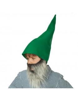 Caciula verde pitic - elf pentru copii și adulți