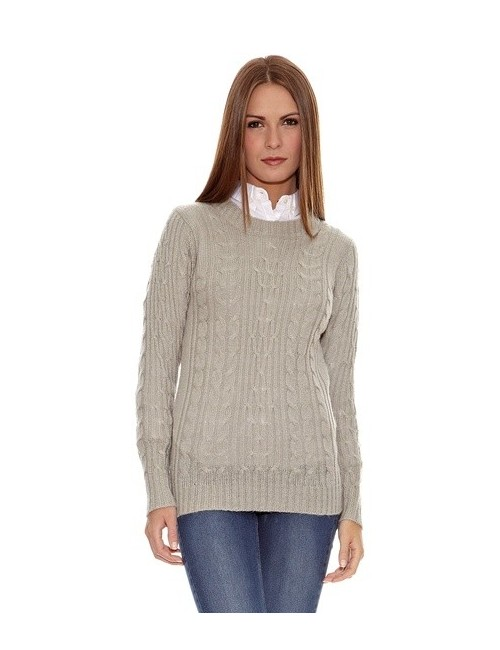 Pulover lung femei M-XL, culoare gri