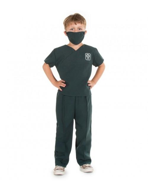 Costum Medic veterinar copii 3 - 7 ani