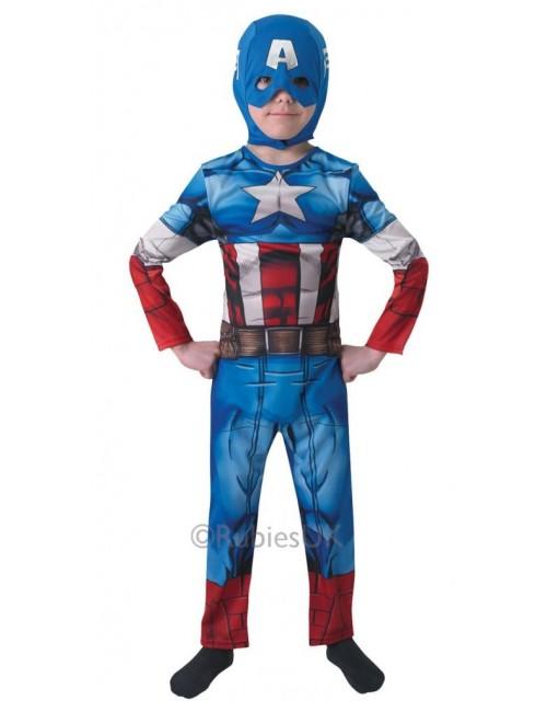 Costum Captain America Avengers Assemble copii 3-8 ani
