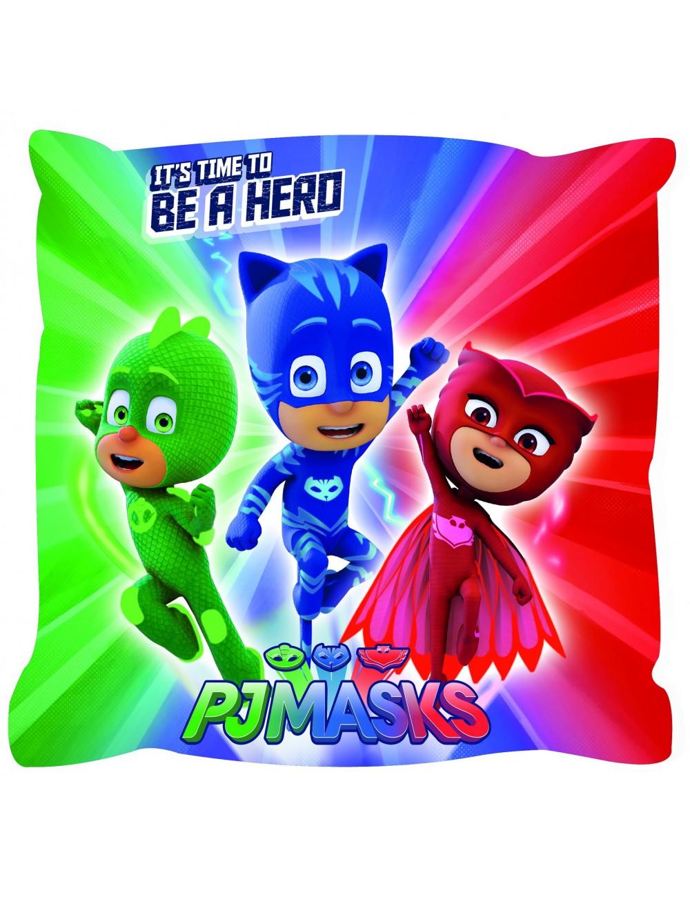 Perna decor PJ Masks - Eroii in pijamale 40x40 cm