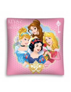 Fata perna decor Printese Disney 40x40 cm