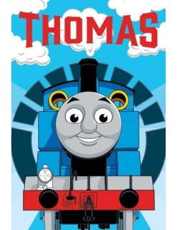 Prosop maini Locomotiva Thomas 40x60 cm