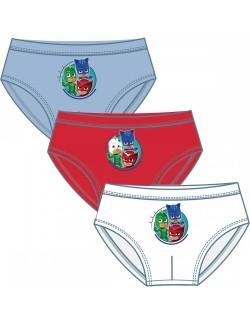 Set 3 chiloti PJ Masks - Eroii in pijamale 2-6 ani