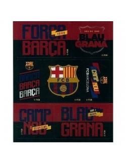 Set autocolante FC Barcelona