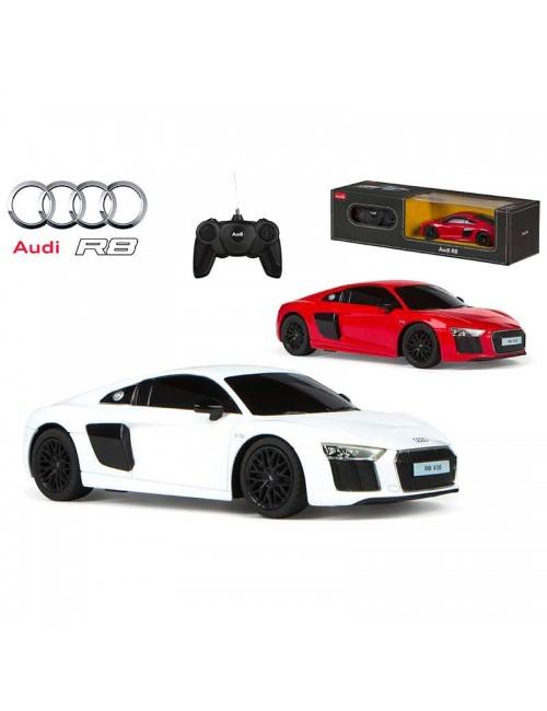 Masina Audi R8 V10 cu telecomanda, scara 1:24