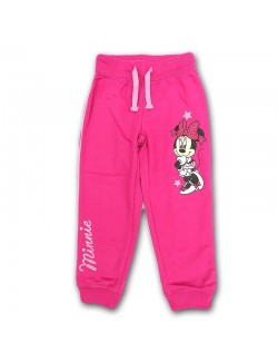 Pantaloni sport Minnie Mouse, roz, 3 - 8 ani