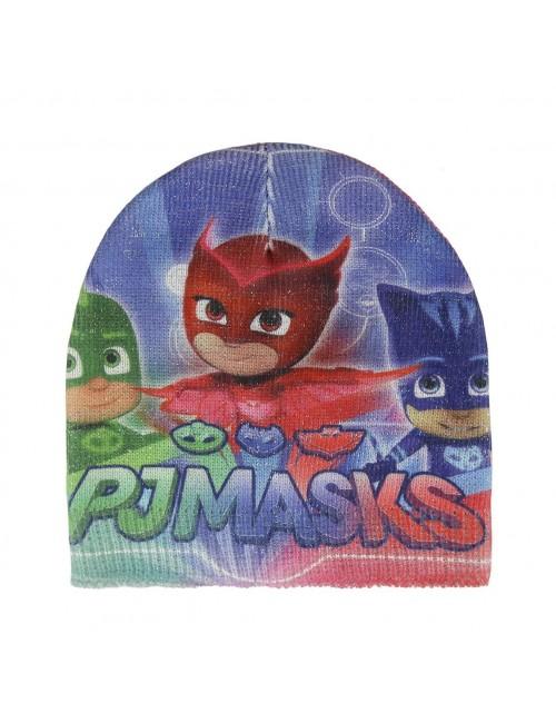 Set caciula si manusi PJ Masks pentru fete