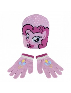 Set caciula si manusi My little pony - Pinkie Pie