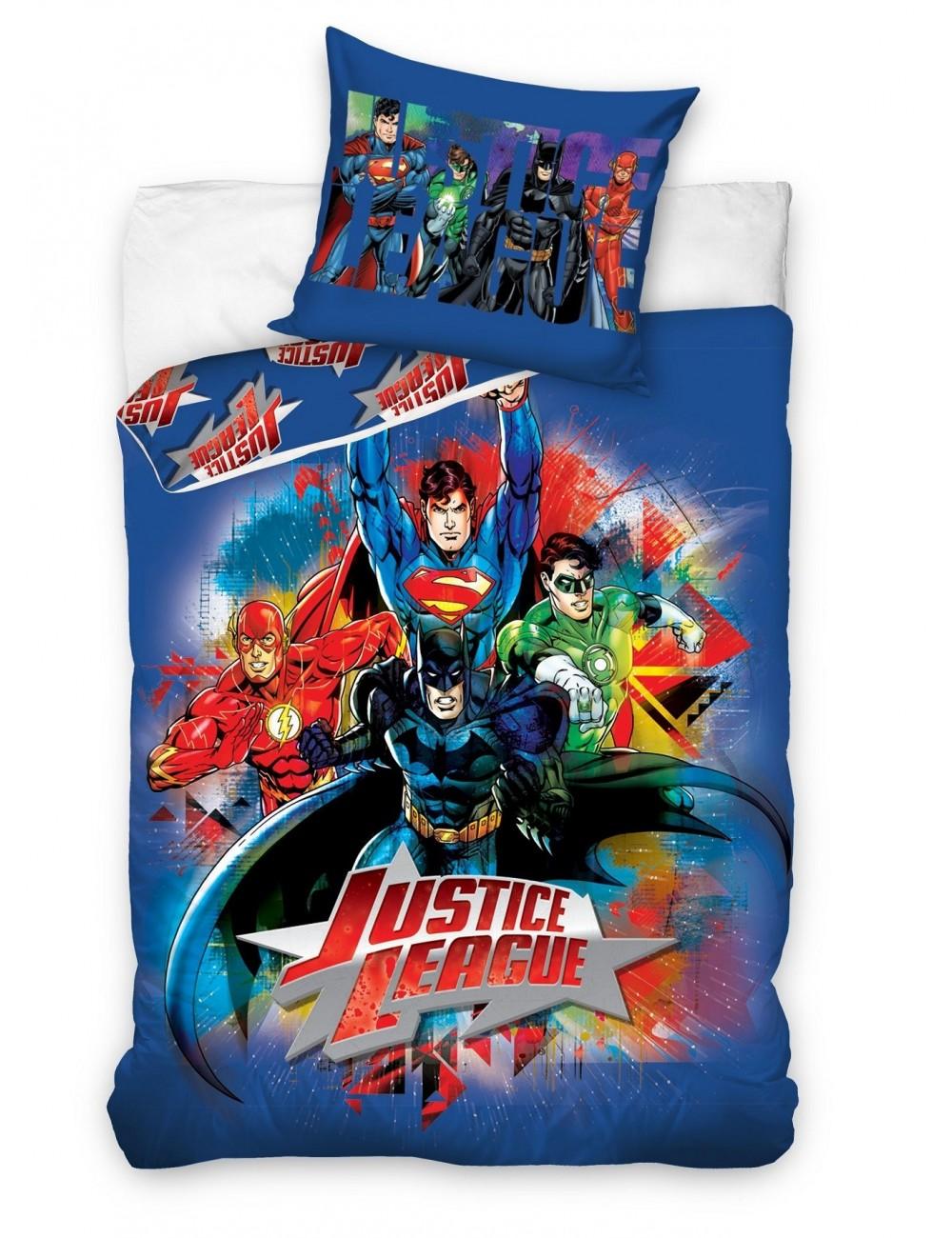 Lenjerie de pat Justice League 160x200 cm