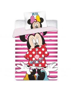 Lenjerie pat Minnie Mouse Disney 140x200 cm
