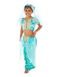 Costum Prinţesa araba - Jasmine 3-7 ani