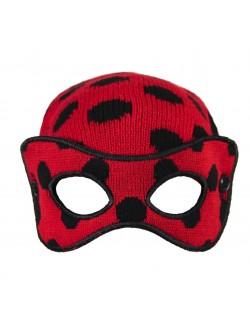 Caciula cu masca Ladybug - Buburuza Miraculoasa 52-54