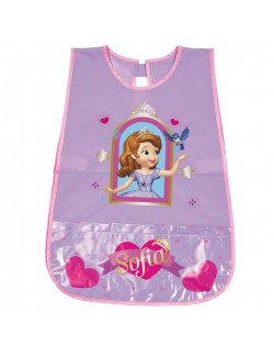 Sort protectie PVC, Printesa Sofia, copii 3-5 ani