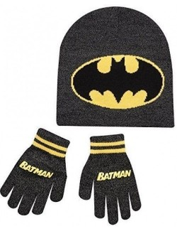 Caciula si manusi Batman copii