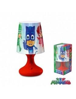Lampa cu led PJ Masks 18,5 cm - rosie