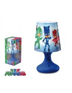 Lampa cu led PJ Masks 18,5 cm - albastra