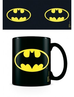 Cana ceramica logo Batman 315 ml