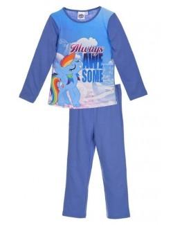 Pijama albastra Micii ponei Rainbow Dash 3 - 8 ani