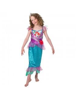 Costum Mica Sirena Ariel Shimmer 3-8 ani