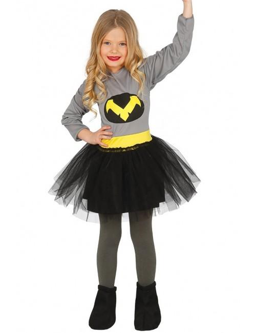 Rochie Bat Girl copii 5-12 ani