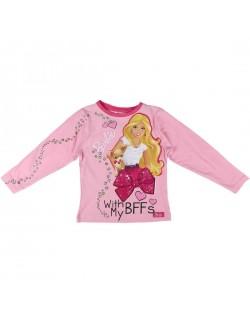 Bluza cu maneca lunga Barbie