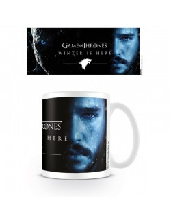 Cana ceramica Game of Thrones (Winter is Here) - Jon