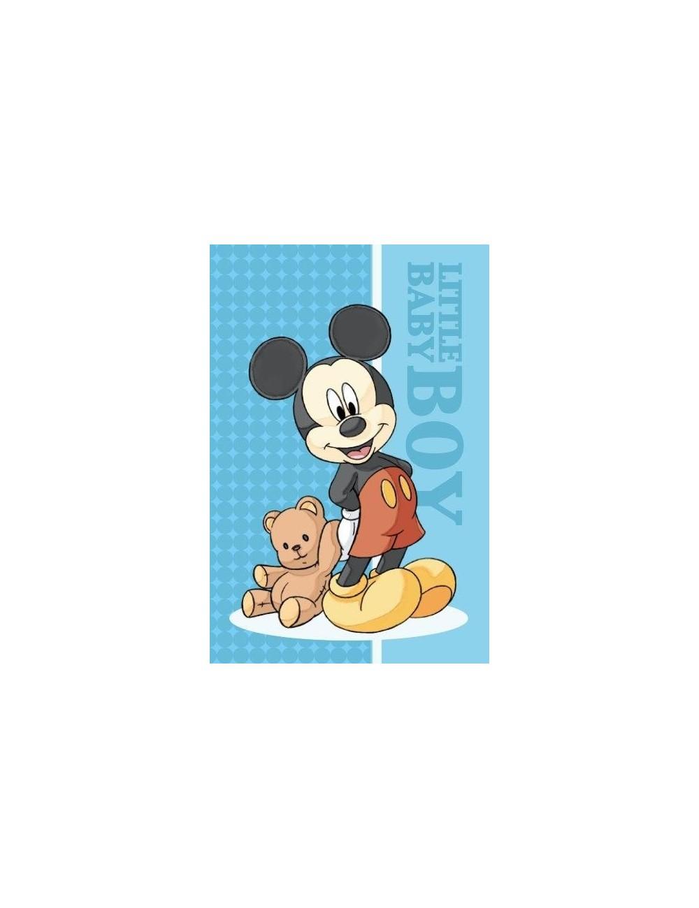 Prosop maini Mickey Mouse cu ursulet, 40 x 60 cm