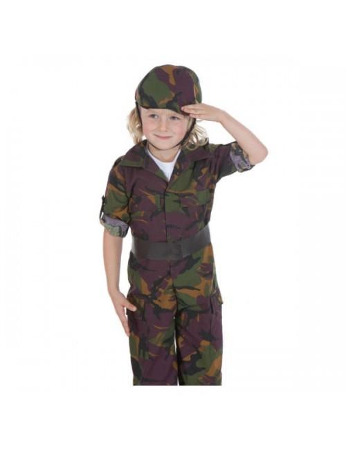 Costum Soldat, baieti 3-7 ani